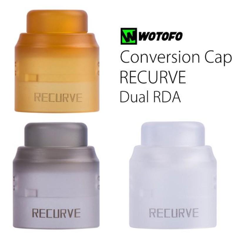 Wotofo Recurve Dual Cap Conversão 22mm