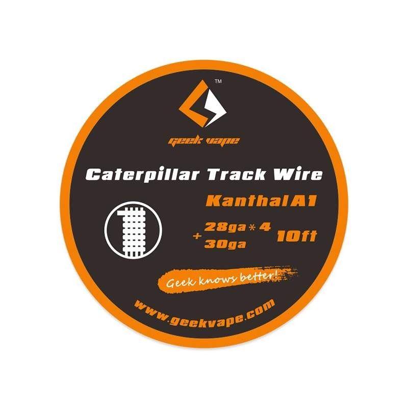 Fio Kanthal A1 Caterpillar Track 28gaX4 + 30ga Geek Vape