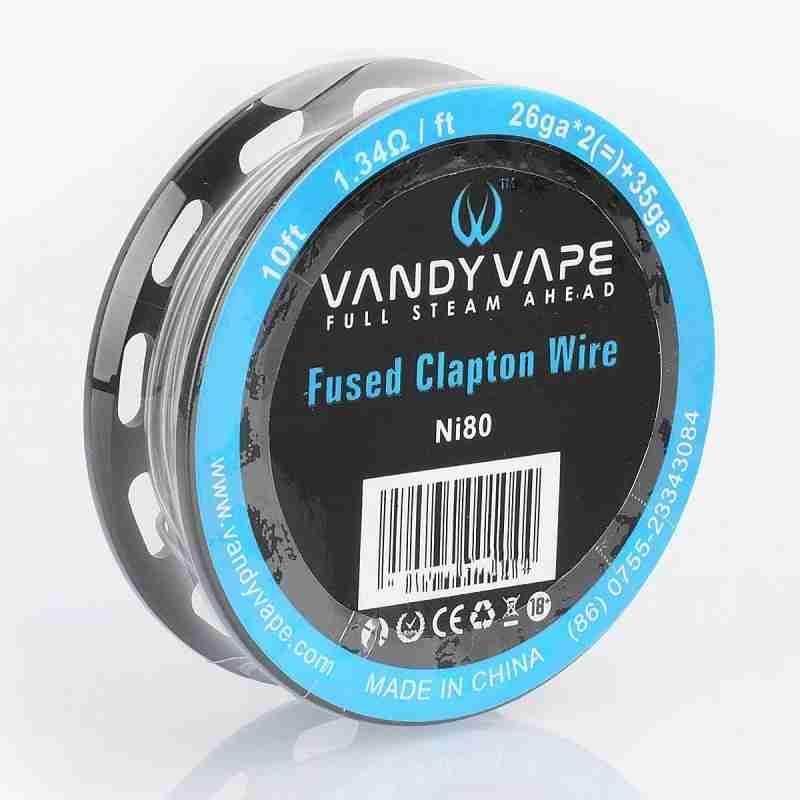 Fio N80 Fused Clapton Vandy Vape