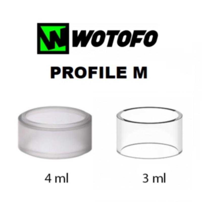 Vidro Pyrex Wotofo Profile M