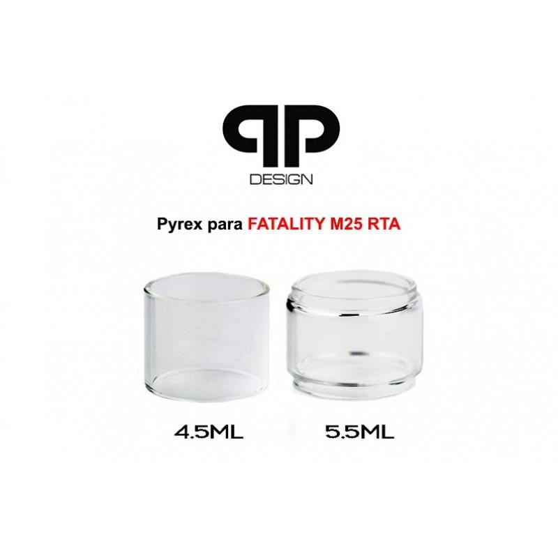Vidro Pyrex QP Design Fatality M25