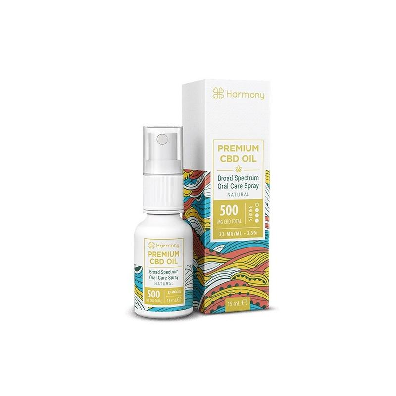 Harmony Óleo CBD Spray Natural