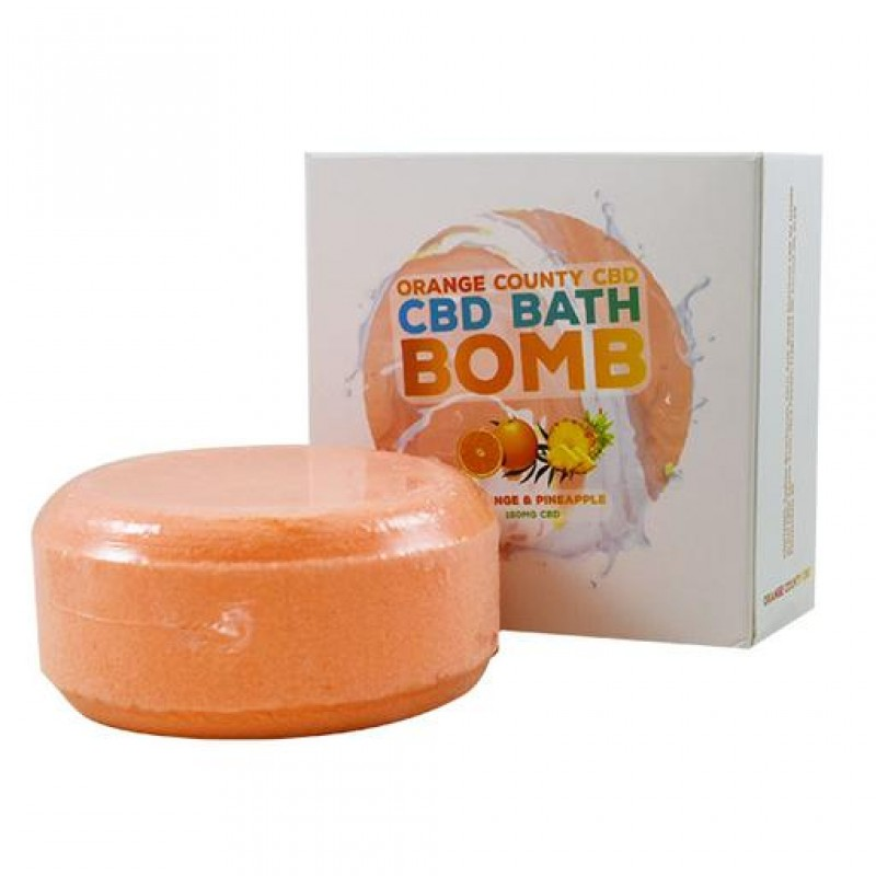Orange County CBD Bath Bomb