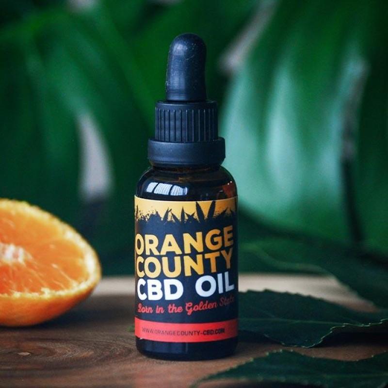 Orange County Óleo CBD Natural