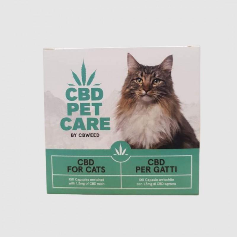 CBWeed Pet Care Cápsulas para Gatos