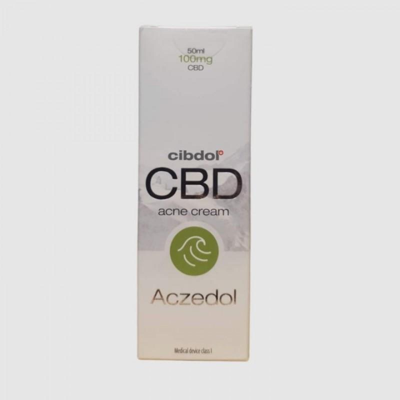 CBWeed Creme Acne Aczedol