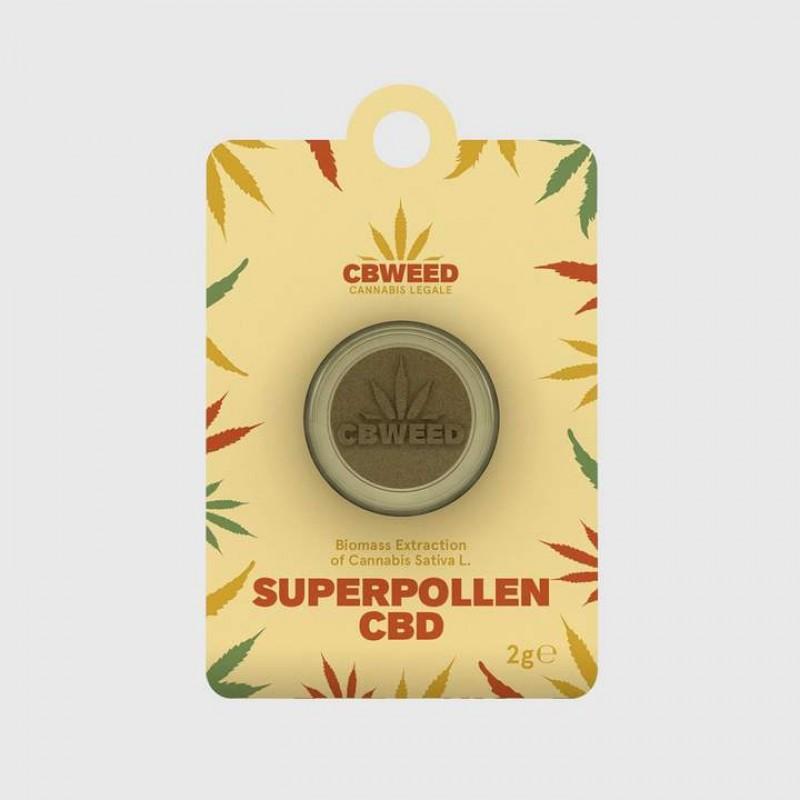 CBWeed Super Pollen Resina