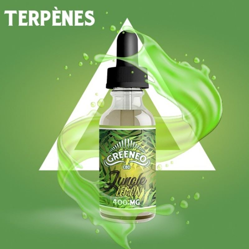 Greeneo Jungle Lemon CBD 800mg