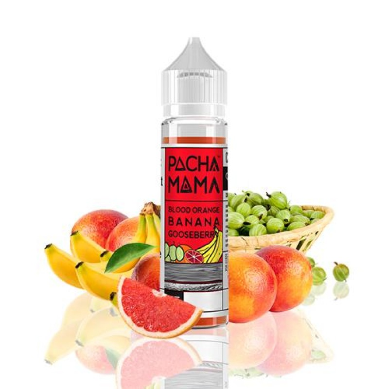 Pacha Mama Blood Orange Banana Gooseberry