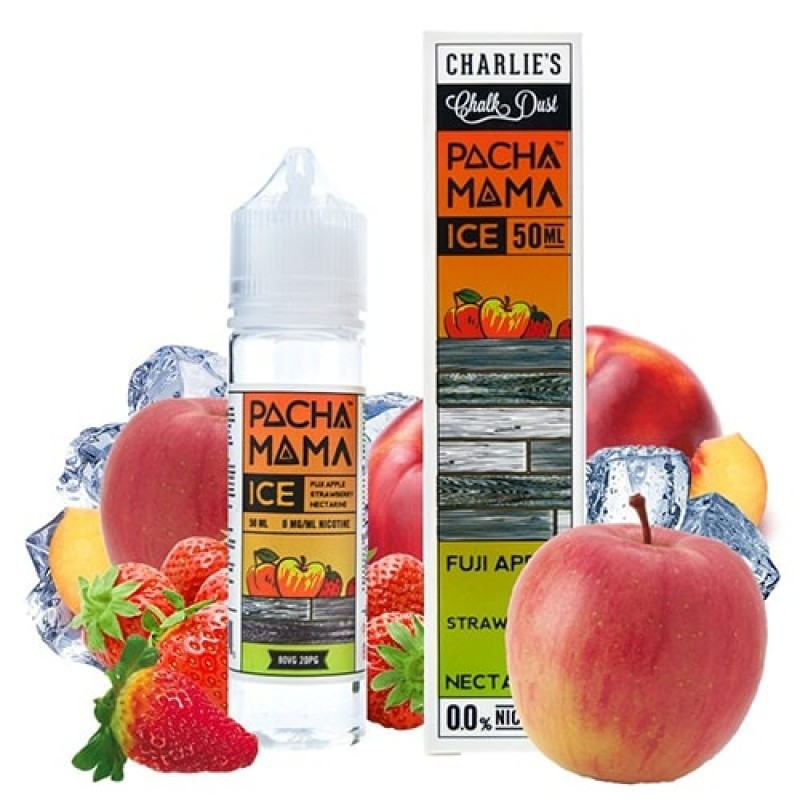 Pacha Mama Ice Fuji Apple Strawberry Nectarine