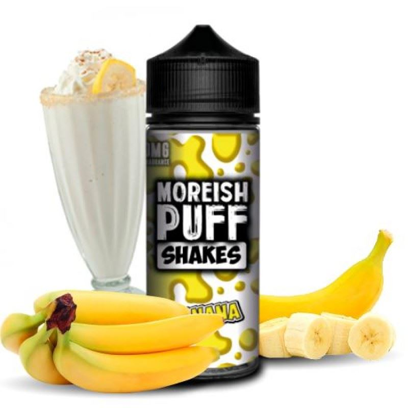 Moreish Puff Shake Banana