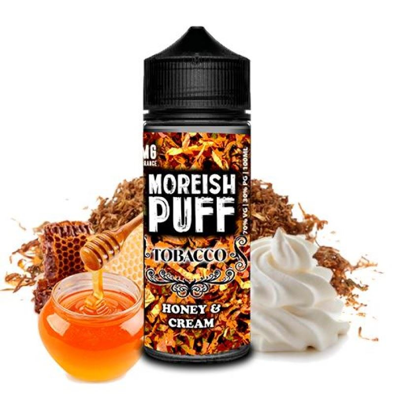 Moreish Puff Tobacco Honey & Cream