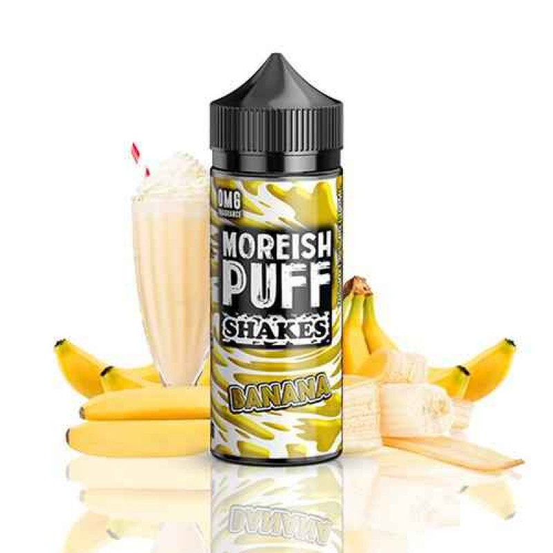Moreish Puff Shakes Banana