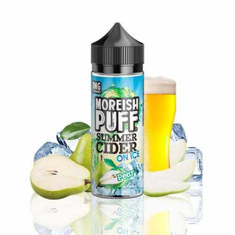 Moreish Puff Summer Cider on Ice Pear