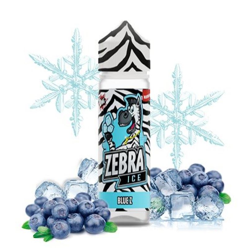 Zebra Ice Blue