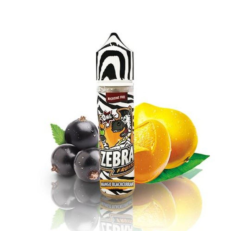Zebra Fruitz Mango Blackcurrant