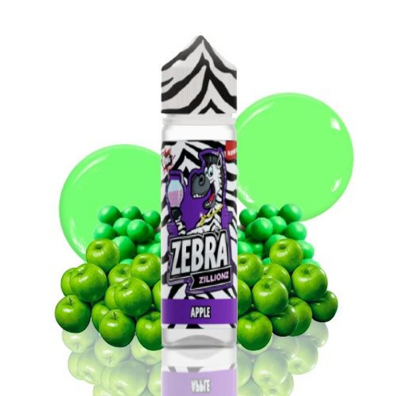 Zebra Zillionz Apple