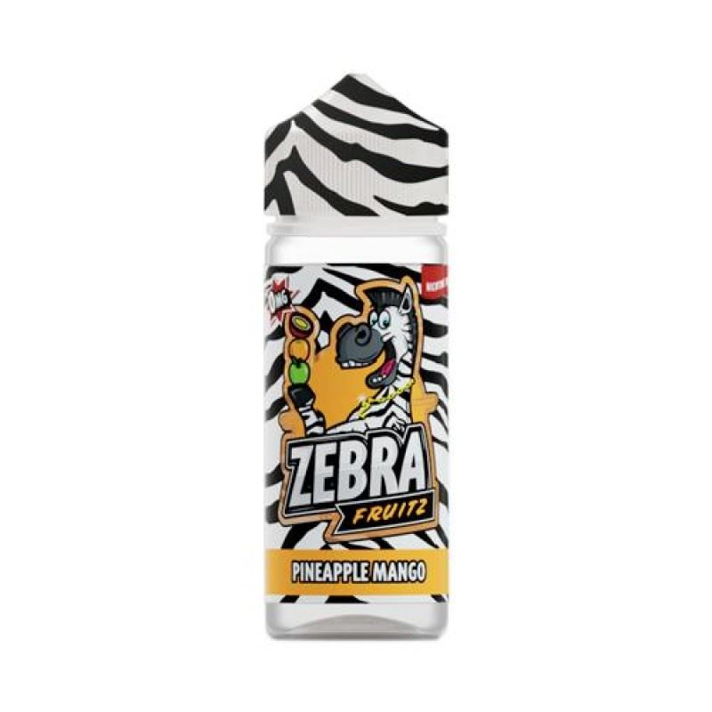 Zebra Fruitz Pineapple Mango 100ml