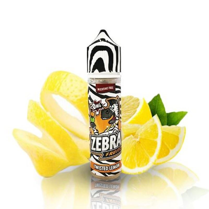 Zebra Fruitz Twisted Lemon