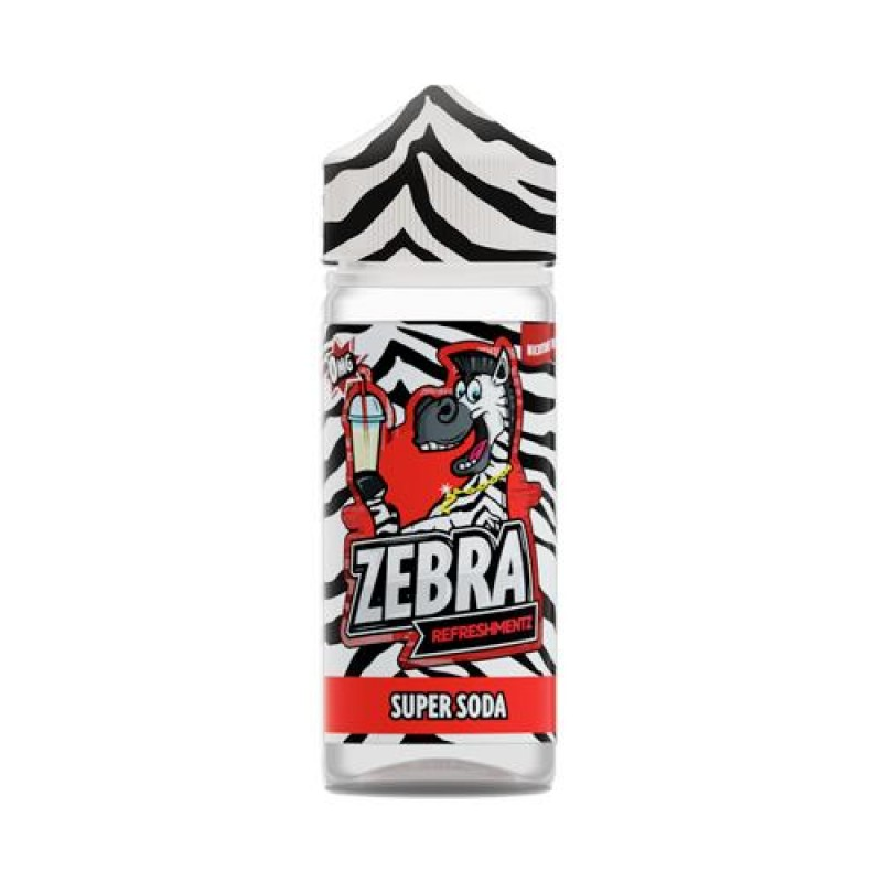 Zebra Refreshmentz Super Soda