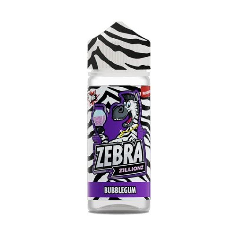 Zebra Zillionz Bubblegum 100ml