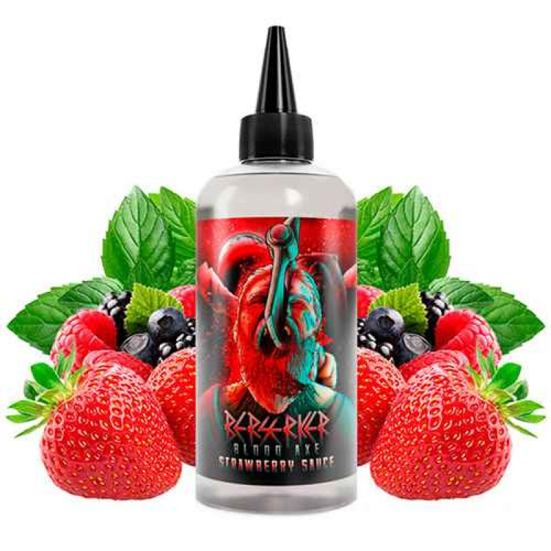 Anglais Joe's Berserker Strawberry Sauce 200ml