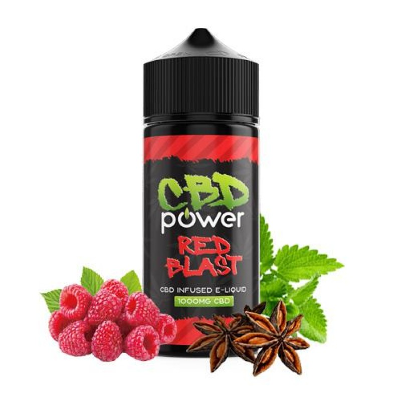 CBD Power Red Blast