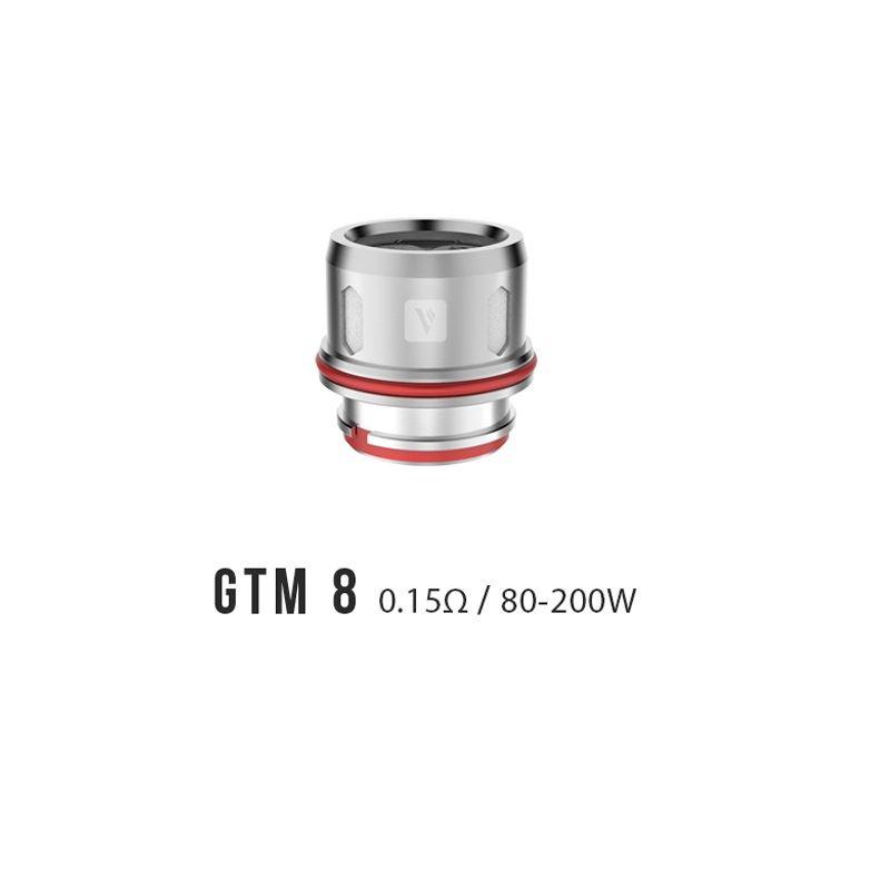Resistência Vaporesso Cascade GTM 8 0.15 Ohms