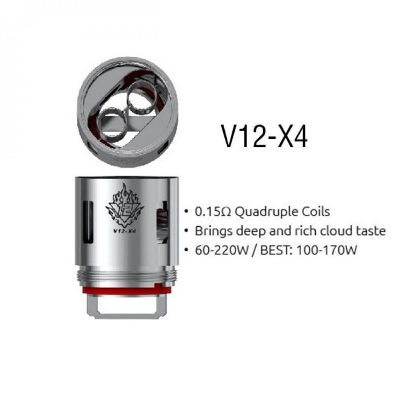 Resistência Smok TFV12 X4 0.15 Ohms