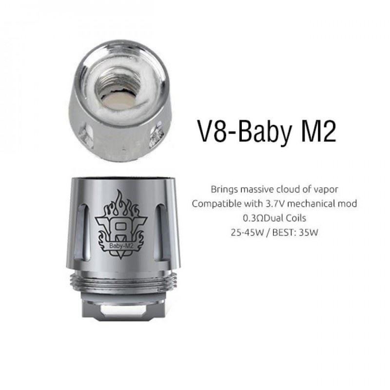 Resistência Smok M2 0.15 Ohms TFV8 Baby / Big Baby / Prince Baby