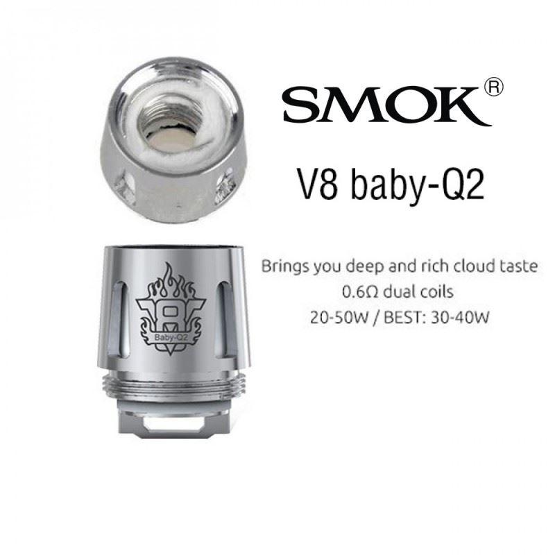 Resistência Smok Q2 TFV8 Baby / Big Baby / Prince Baby