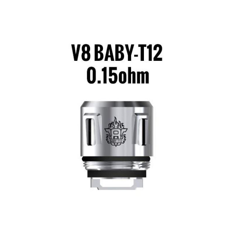 Resistência Smok T12 0.15 Ohms TFV8 Baby / Big Baby / Prince Baby