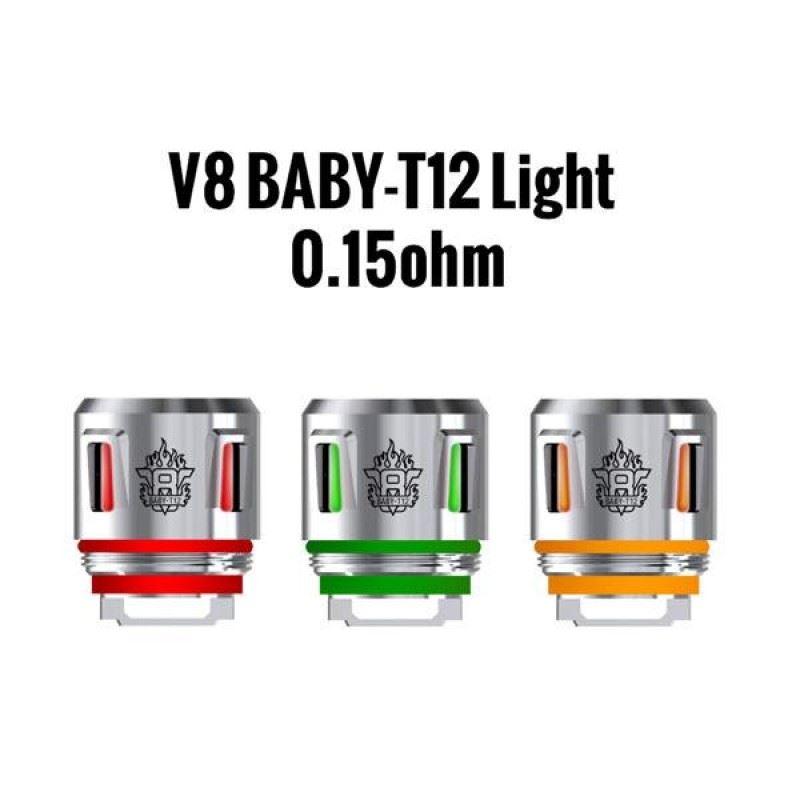Resistência Smok T12 Light 0.15 Ohms TFV8 Baby / Big Baby / Prince Baby