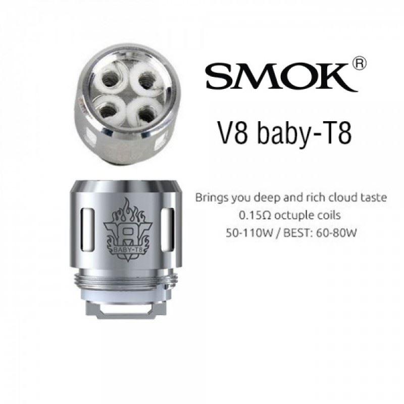 Resistência Smok T8 0.15 Ohms TFV8 Baby / Big Baby / Prince Baby