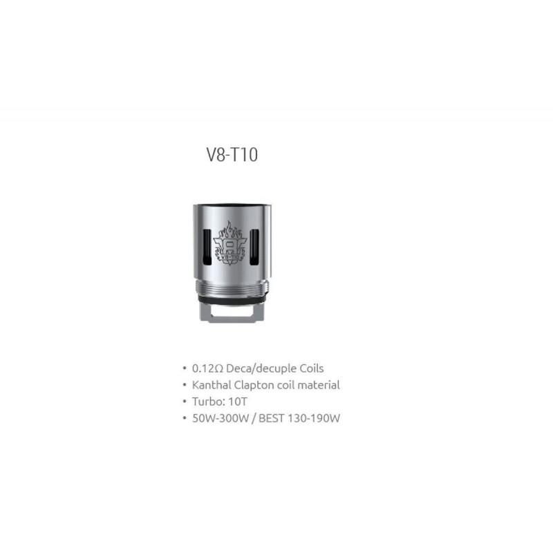 Resistência Smok TFV8 T10 0.12 Ohms