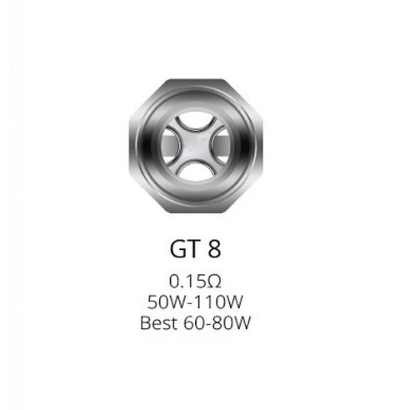 Resistência Vaporesso GT 8 0.15 Ohms
