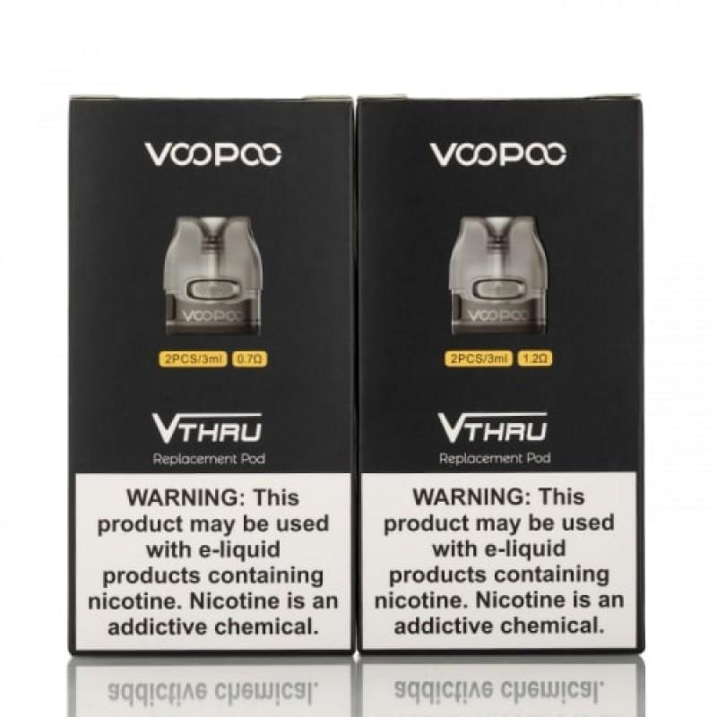 Resistência + Reservatório VooPoo VThru / VMate (Pack 2)