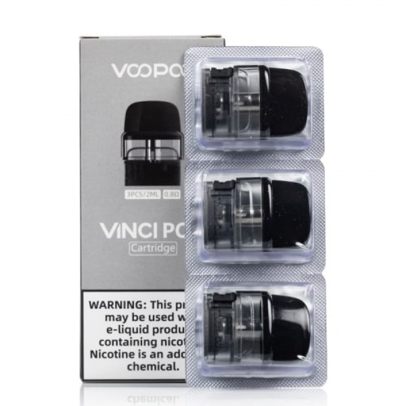 Resistência + Reservatório VooPoo Vinci Pod (Pack 3)