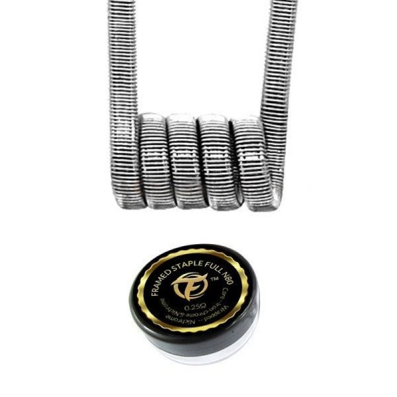 Fumytech Framed Staple Full N80 0,25 Ohms